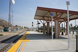 Riverside Hunter Park Metrolink Station