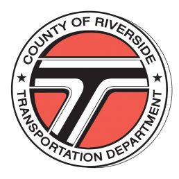 RCTC County of Riverside Transportation Department Official Seal