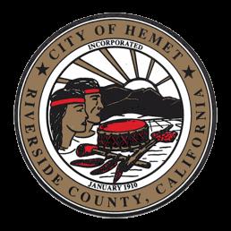 RCTC City of Hemet Seal