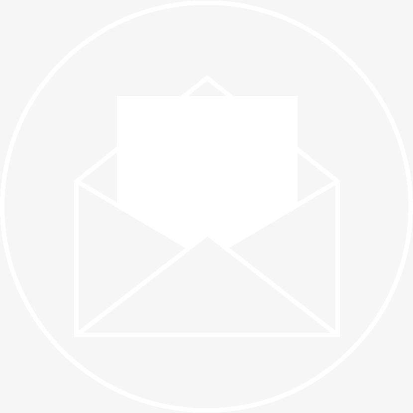 RCTC Mail Icon White