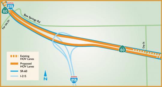 RCTC 60/215 East Junction Interchange Project Image