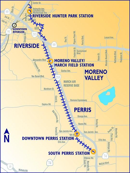 RCTC Perris Valley Line Image