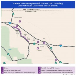 Eastern City SB1 funding