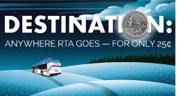 RTA 25 cent WinterBreak