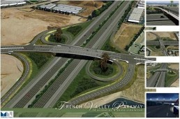 Photo of City of Temecula interchange at the French Valley Parkway